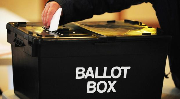 The Electoral Commission said the problems had arisen as a result of a 'software issue' (Rui Vieira/PA)