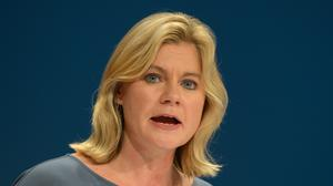 Justine Greening said the foreign worker list plans are about 'informing policy'