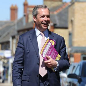 More than one in four of those certain to vote in the 2014 European elections plan to support Nigel Farage's Ukip, a poll found
