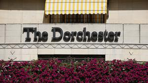 A man was found dead in a room The Dorchester Hotel