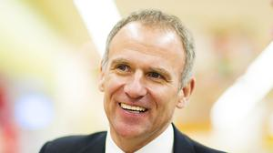 Undated handout photo issued by Tesco of chief executive Dave Lewis as shareholder lobby group PIRC criticises his £4.6m annual pay deal.