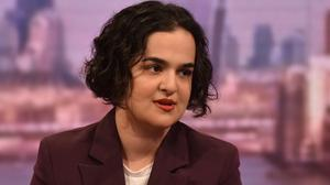 Nadia Whittome MP says she has been sacked as a part-time carer for speaking out about lack of protective equipment (Jeff Overs/BBC/PA)