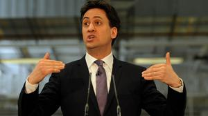 Ed Miliband was in East Lancashire to launch Labour's regional economic plan for the North West
