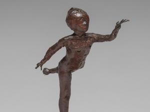 Arabesque over Right Leg, Left Arm in Front, by Edgar Degas (Jaymes Sinclair/The Fitzwilliam Museum/PA)