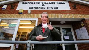 Ukip leader Nigel Farage admitted he is 'stretched' fighting a marginal seat while leading a national campaign