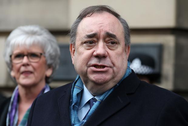 Alex Salmond was cleared of 13 sexual assault charges following his trial last year (PA)