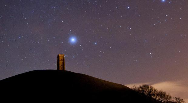 Ever fancied naming your own planet? (Ben Birchall/PA)