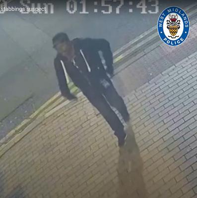 Screen grab taken from CCTV issued by West Midlands Police (West Midlands Police/PA)