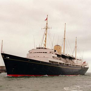 The 60th anniversary of the launch of Royal Yacht Britannia has been marked with a ceremony on board the boat