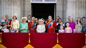 The royal family are apart on the Queen's birthday (Victoria Jones/PA)