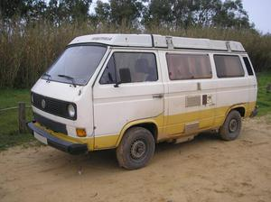 A camper van linked to the suspect (PA)