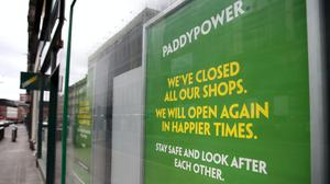 Paddy Power owner Flutter Entertainment aims to raise cash to accelerate its expansion plans (Andrew Milligan/PA)