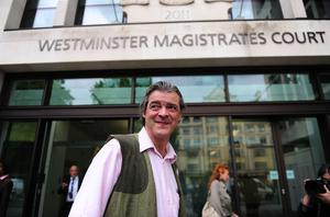 Rhodri Philipps was sentenced at Westminster Magistrates' Court in London (David Mirzoeff/PA)