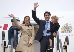 Sophie Trudeau has been given the all clear by doctors (PA)
