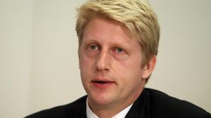 """Jo Johnson said it was """"welcome news"""" that record numbers of students secured university places this year"""