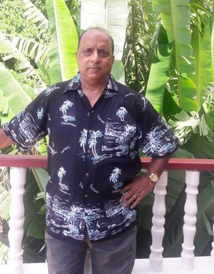 Amrik Bamotra, 63, a radiology support worker at King George Hospital in London (PA)
