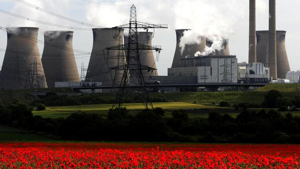 A reduction in coal and gas helped cut emissions in 2018 (John Giles/PA)