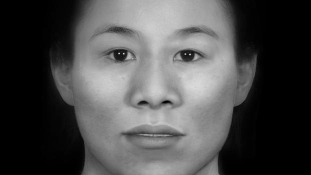 Police have released a facial reconstruction of the woman (Police Scotland/PA)