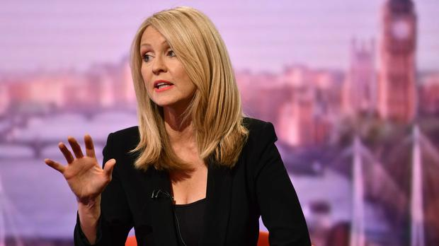 Esther McVey on The Andrew Marr Show (Jeff Overs/BBC/PA)