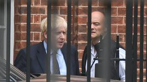 Prime Minister Boris Johnson faces questions over how much he knew about his chief adviser, Dominic Cummings, reportedly breaking lockdown rules (Victoria Jones/PA)