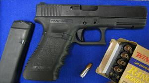 A Glock pistol and ammunition (South West Regional Organised Crime Unit/PA)