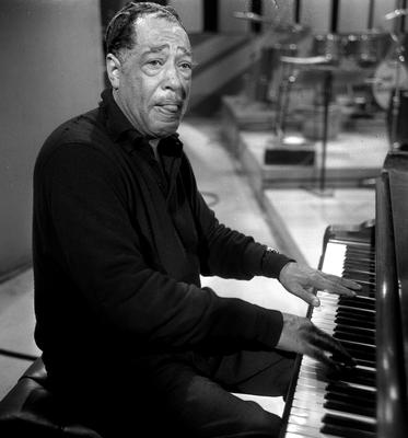 Duke Ellington, on a visit to the BBC studios in London in 1965 (PA Archive/PA Images)