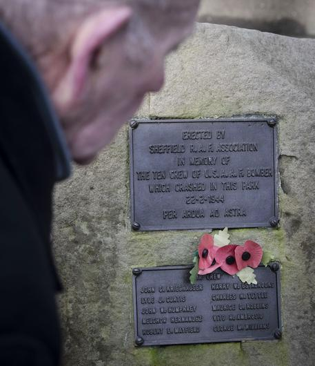 Tony Foulds has spent decades tending to the memorial in Endcliffe Park, Sheffield (Danny Lawson/PA)