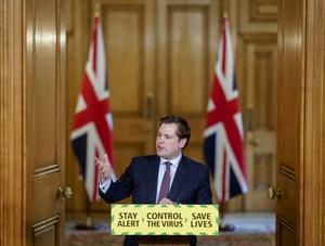 Communities Secretary Robert Jenrick said full guidance would be given on Sunday (Andrew Parsons/10 Downing Street/PA)