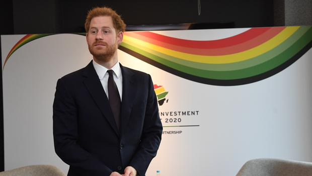 The Duke of Sussex attending the UK-Africa Investment Summit (Stefan Rousseau/PA)