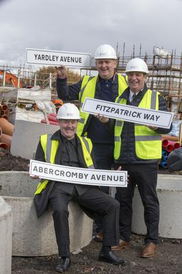 More than 6,000 fans voted to name the streets after St Mirren players (Jeff Holmes/PA)