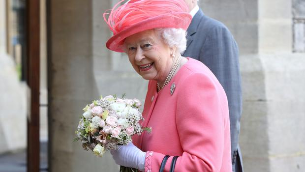 Queen Elizabeth II is hosting the reception for Harry and Meghan (Chris Jackson/PA)