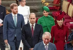 The Sussexes at their final official public engagement before Megxit (Phil Harris/Daily Mirror/PA)