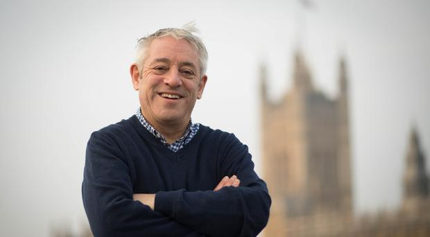 Former Commons speaker John Bercow should be offered a peerage, according to his successor (Stefan Rousseau/PA)