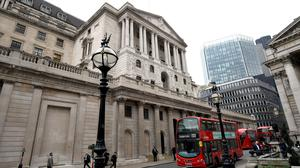 The Bank of England has held rates at 0.75% (PA)