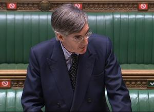 Jacob Rees-Mogg has updated MPs (House of Commons/PA)
