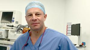 Charlie Knowles is a leading London surgeon and country singe (Charlie Knowles/PA)