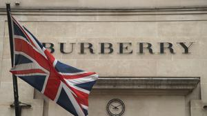 Around 500 jobs are being cut at luxury fashion firm Burberry in the UK and globally (PA)