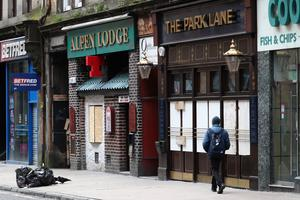 Licensed premises were closed for long periods as a result of the initial UK lockdown (Andrew Milligan/PA)