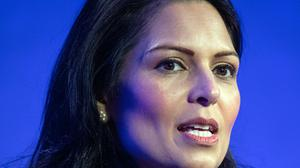 Home Secretary Priti Patel has been accused of avoiding scrutiny during a time of national crisis (Dominic Lipinski/PA)