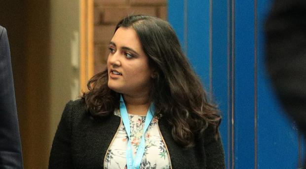 Sonia Khan arrives at the Conservative Party annual conference at the International Convention Centre, Birmingham (Aaron Chown/PA)