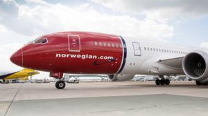 Norwegian has cancelled more than 4,000 flights due to coronavirus (Norwegian/PA)