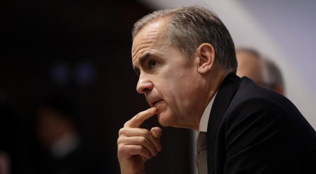 Bank of England governor Mark Carney is stepping down next year (Kirsty Wigglesworth/PA)