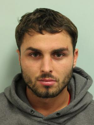 Arthur Collins junior is serving a 20-year prison sentence for the acid attack, which left 16 people with chemical burns and three people temporarily blinded (Metropolitan Police/PA)