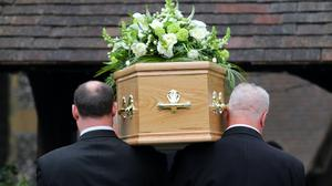 Simpler funerals have become much more common during the pandemic (PA)