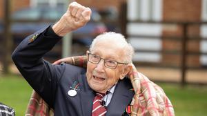 Captain Tom Moore is celebrating his 100th birthday (Emma Sohl/Capture the Light Photography/PA)