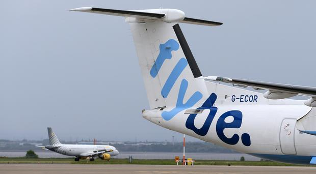 Stobart Group said it is investing £9 million into securing the future of Flybe (Tim Goode/PA)