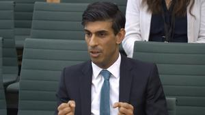 Chancellor Rishi Sunak is to unveil an emergency package aimed at protecting workers' jobs and wages as they face hardship in the fight against the coronavirus pandemic (Parliament TV/PA)