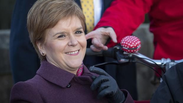 Nicola Sturgeon has set out her demands for SNP MPs to support a minority Labour government (Jane Barlow/PA Wire/PA Images)