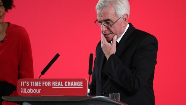 Shadow chancellor John McDonnell. (Steve Parsons/PA Wire/PA Images)