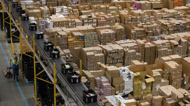 Amazon is among the firms to help the Government provide PPE to frontline workers (Aaron Chown/PA)